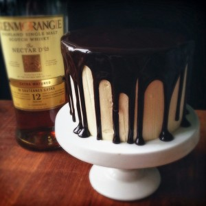 Chocolate Whiskey Guinness Cake