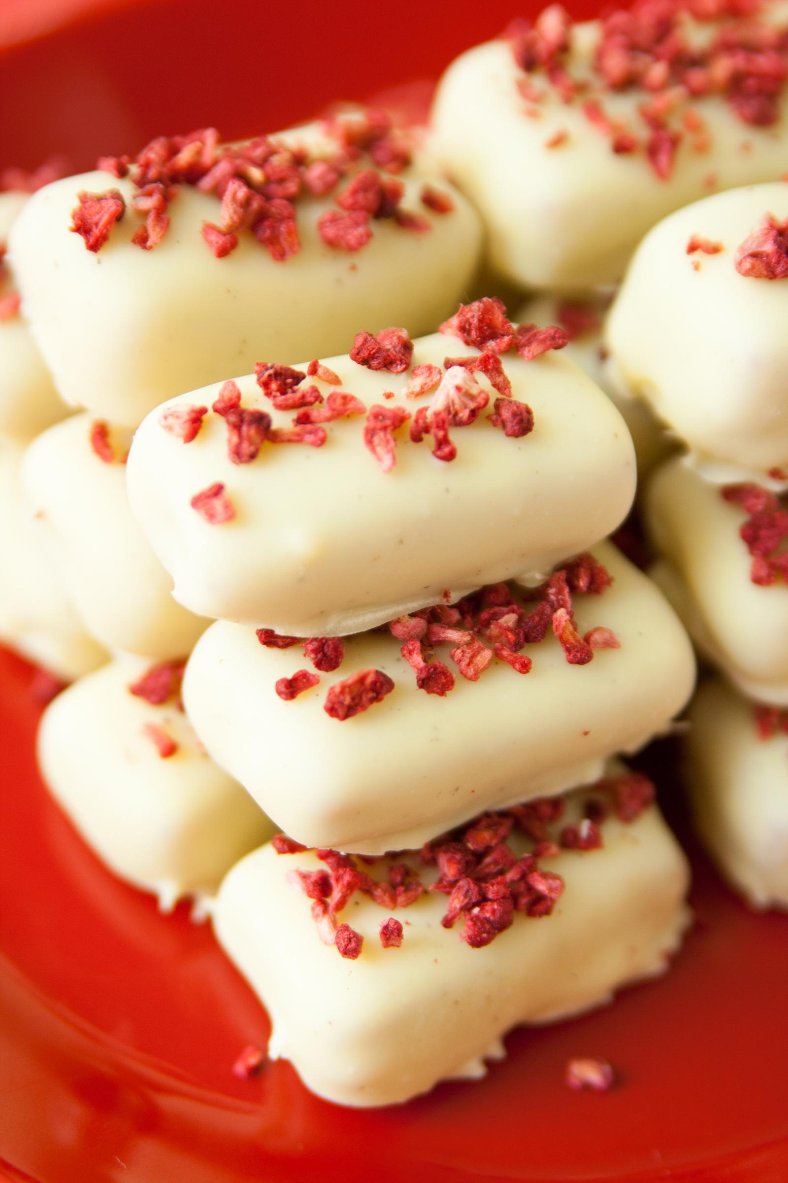 Hallonkola med vit choklad | Baker vs. Runner