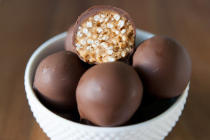 Puffy Peanut Butter Balls