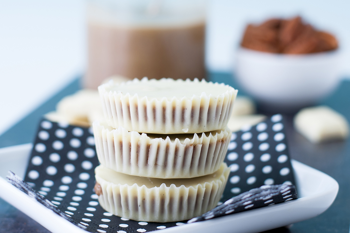 White Chocolate Pecan Butter Cups | Baker vs. Runner