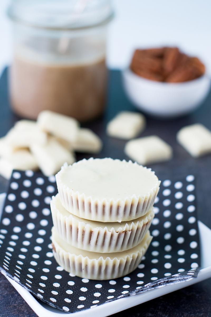 White Chocolate Pecan Butter Cups   Baker vs. Runner